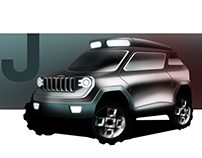 Jeep Deer - Electric SUV Concept