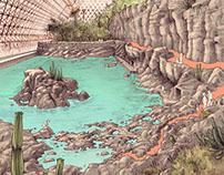 Desert Sea at Biosphere2