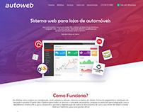 Layout Site AutoWeb - 2020