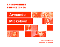 Fashion Designer | Modern and Creative Template Suite