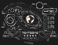 HUD Elements, futuristic user interface templates