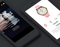 James Wani e-commerce Store & Branding