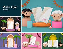 Adha Flyer Mockup