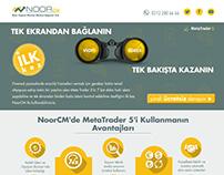 NoorCM MetaTrader 5 Landing Page