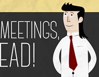 Status Meetings Infographic