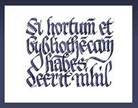 Calligraphy — Bybliotheca