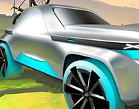 JEEP FUNN lifestyle suv concept for 2