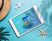 Travel checklist. Tourism. Poster