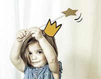 Illustration on photo, for El Corte Inglés