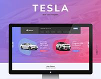 Tesla - Rent a Car Template / Allfoc.us