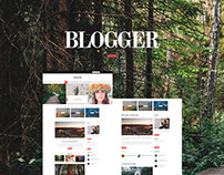 Blogger - Simple Blog Pages