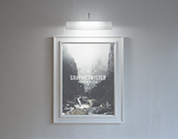 Stylish Hanging Poster Frame