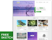 Save the Tree Website Design