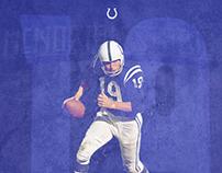 Johnny Unitas Poster