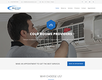 Full Website Design for AC/Fridge Repairing Shop