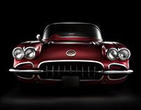 Classic Corvette fine art shoot (personal project)