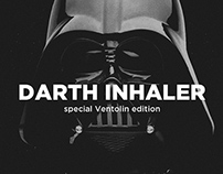 Darth Inhaler - package branding