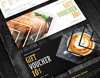 Gift Voucher coffee and burger