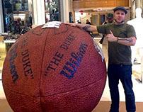 Macy's Super Bowl Footballs 2014