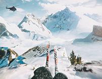 Hardcore Skier