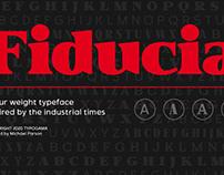 New: Fiducia typeface