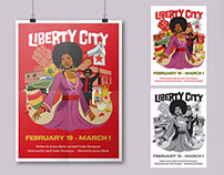 Posters for Adrienne Arsht Center's plays
