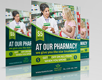 Pharmacy Flyer Template Vol.3