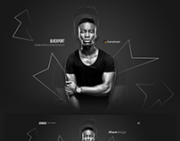 BlackPort - Personal Portfolio & Resume PSD Template