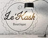 Le'Kash Boutique - Logo & Branding Design