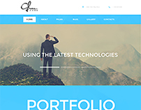Photographer portfolio design