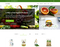 Krishok - Organic and Vegetable Products HTML5 Template