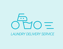 Logo I made for laundry services
