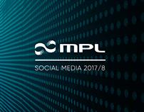 MPL - Social Media 2017/8