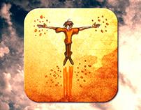 "Book Art and iOS7 App Design: ""Sky Dreams"""