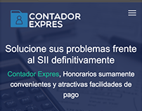 Contador Expres website