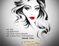 Berlinale & L'Oréal Poster