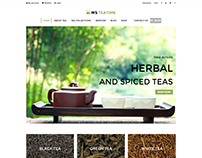 WS TeaTime Tea Shop WordPress Theme
