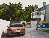 Houses renderings