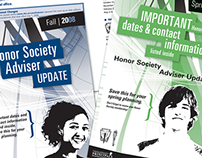 Honor Society Adviser Updates