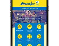 Bharat Gas Consumer App design