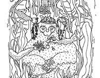 illustration »series of bw/line work«