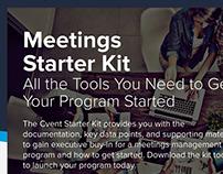 Meetings Starter Kit Landing Page
