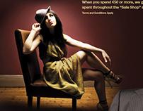 Campaign for Fashion Shop Promotion