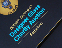Bombay Sapphire Designer Glass Charity Auction