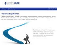 peformax login screen