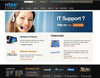 Website Design & development of NTES.ie