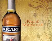 """Ricard"" Vintage Theme Bistro Poster"