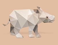 Baby Javan Rhino.