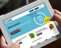 Coinc - Diseño web
