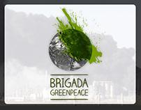 Greenpeace Mini-website